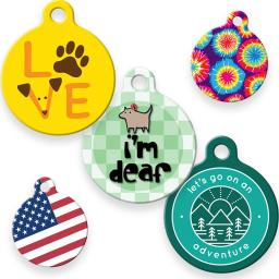 Dog Tag Art ID Tags in Other Designs category image