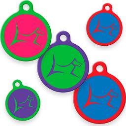 Dog Tag Art ID Tags In Club Colors category image