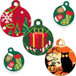 Dog Tag Art ID Tags in Lupine Pet Holiday Designs category image
