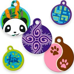 Dog Tag Art ID Tags in Lupine Pet Original Designs category image